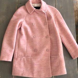 Soft Pink Zara Peacoat
